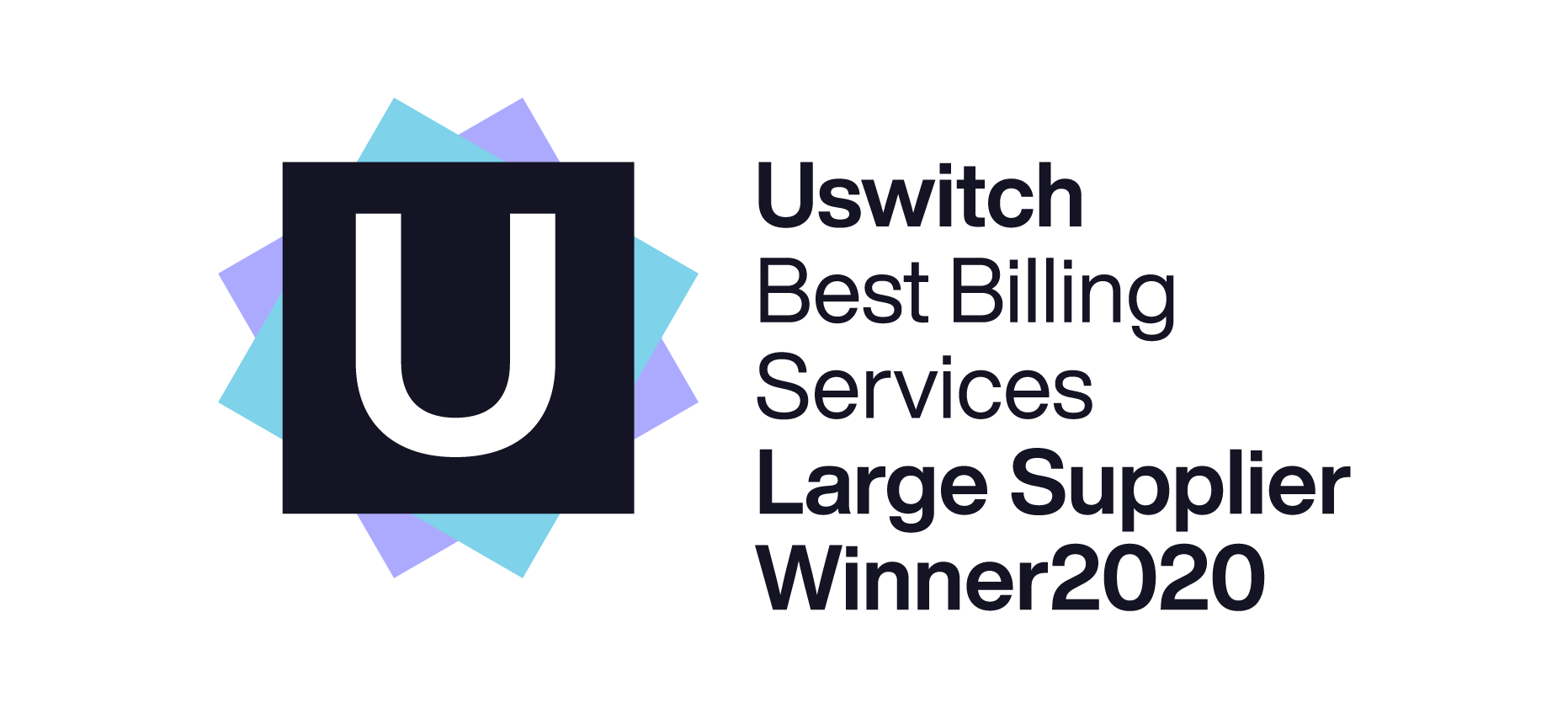 SSE won Uswitch Best Billing Services for a Large Supplier for 2020