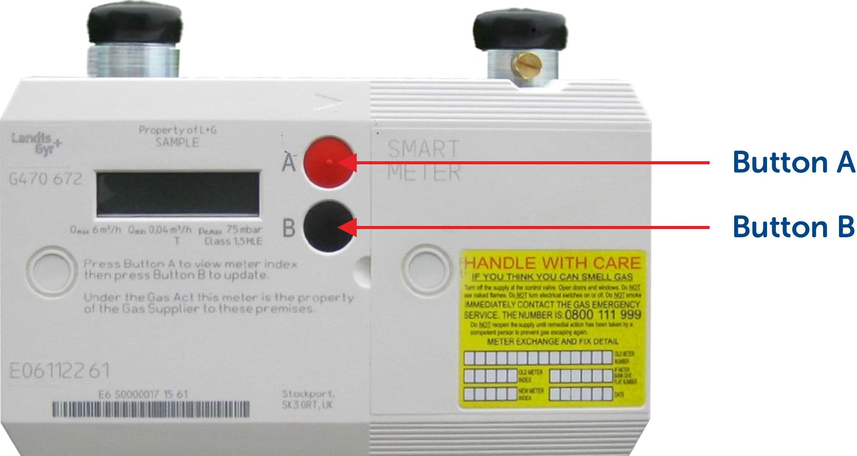 Reading Smart Meters: How to Take Readings - SSE